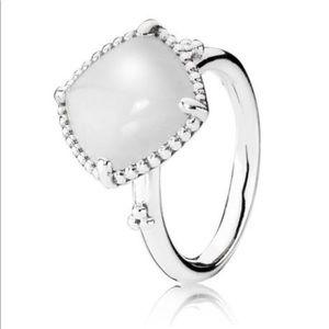 RETIRED Authentic Pandora Quartzite Ring